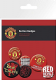 Manchester United  6 Pin Badges in Pack (ge)